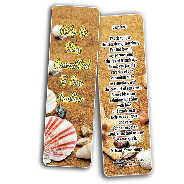 NEBM2249 - A Prayer for Couples Bookmarks