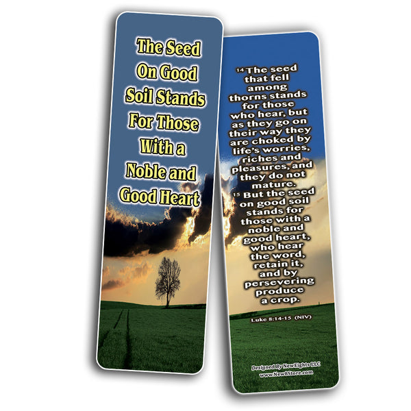 Everything You Need for Growth Bible Bookmarks (30-Pack) - Handy Reminder About How to Grow in Christ