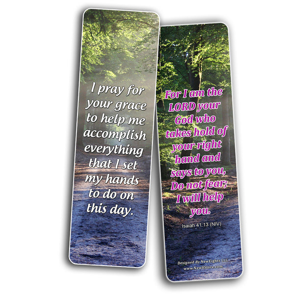 Good Morning Devotional Scriptures From Bible Bookmarks (60-Pack)