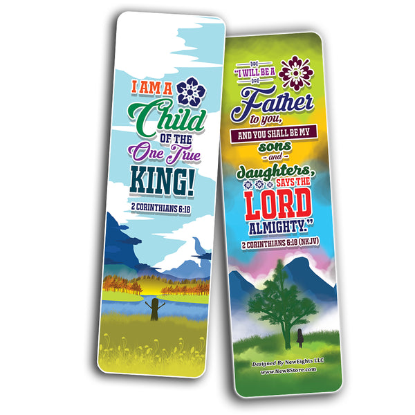I AM Daily Declaration for Christian Bookmarks NKJV Series 1