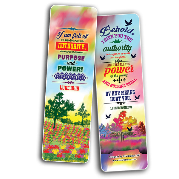 I AM Daily Declaration for Christian Bookmarks NKJV Series 2