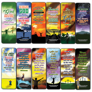 God will Provide Bible Verses Bookmarks Cards