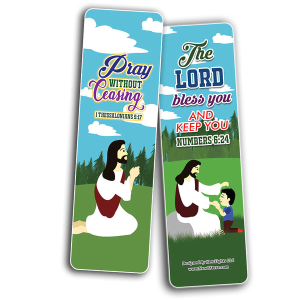 God is Good All The Time Bible Bookmarks for Kids