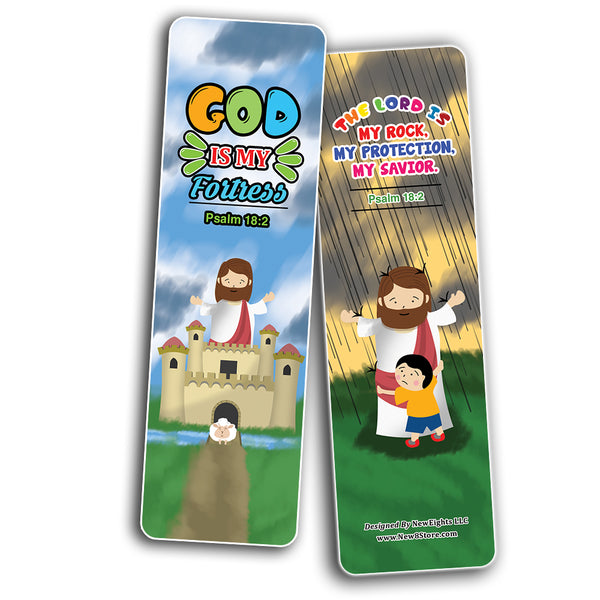 Knowing God Christian Bookmarks Cards