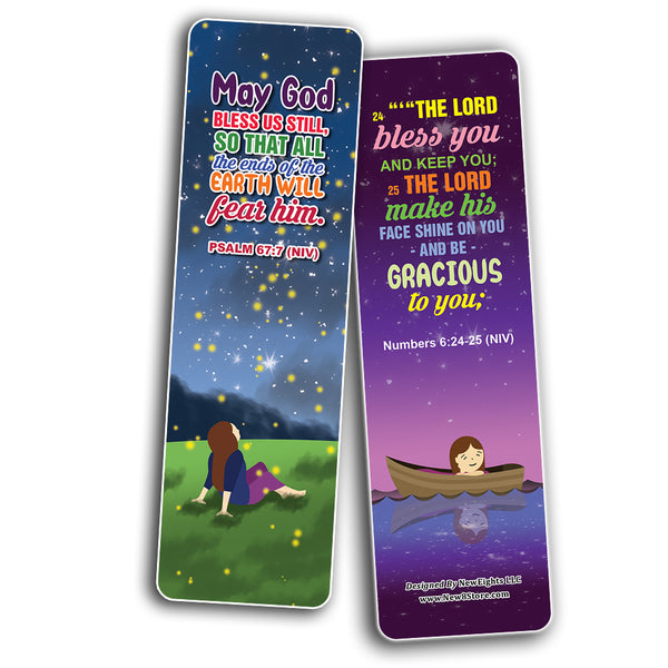 Top Bible Verses about God's Blessings NIV Bookmarks for Women