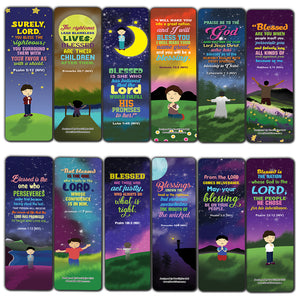 Top Bible Verses about God's Blessings NIV Bookmarks for Men