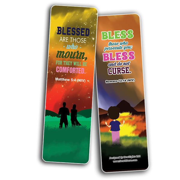 Top Bible Verses about God's Blessings NIV Bookmarks for Teens