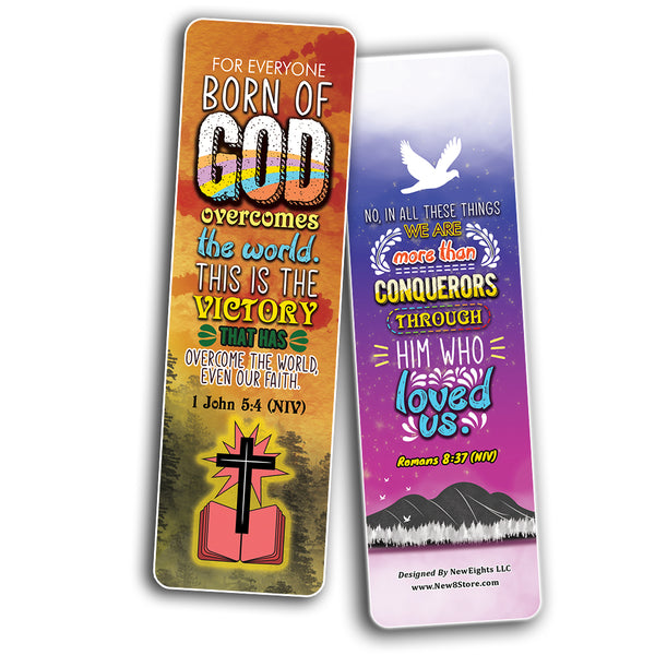 Victory in Christ Bookmarks (12-Pack)