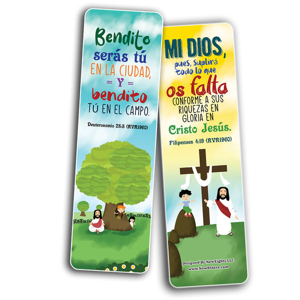 Spanish God's Blessing Christian Living Bookmarks (30-Pack)