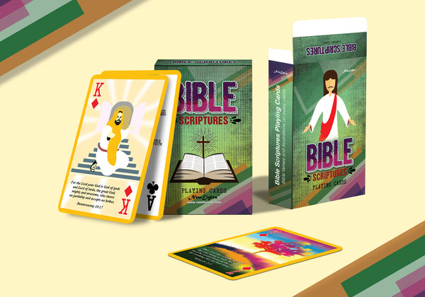 Bible Scriptures Playing Cards (2-Deck)