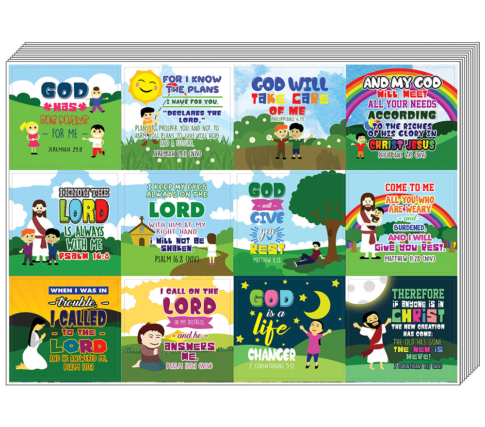 Top Bible Verse for Gods Promises Stickers