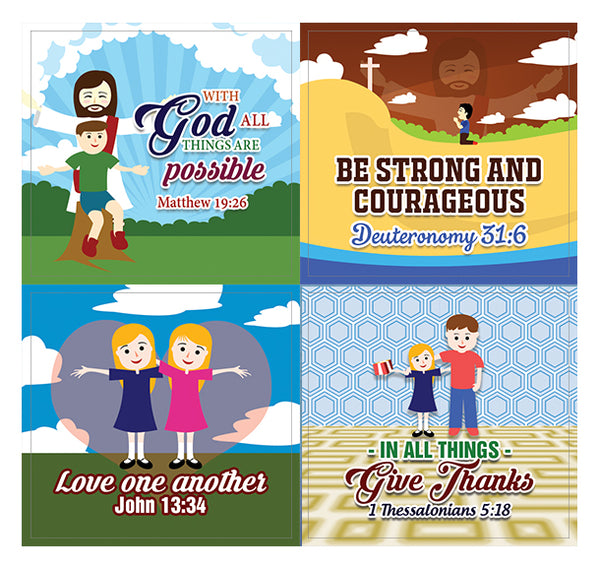 God is Good All The Time Jesus Bible Stickers