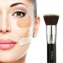 Best Foundation Brush Flat Top Kabuki Synthetic Face Brush Applicator Blender