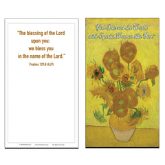 Blessed Special Women Christian Bible Psalm 129:8 Postcards (60 Pack)