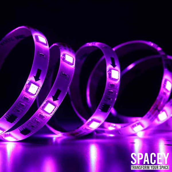 SPACEY™ -  Bluetooth LED Strip Lights - SPACEY AESTHETICS