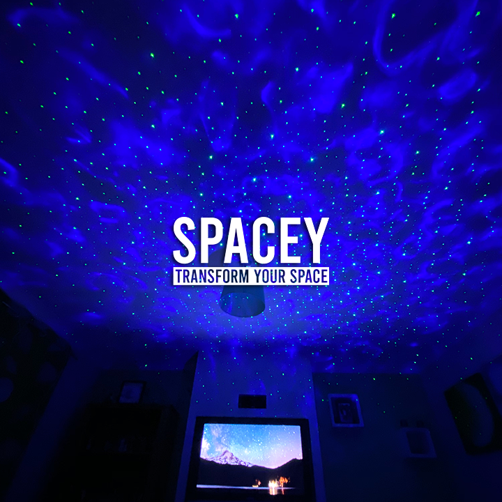 SPACEY™ - Galaxy Projector - SPACEY