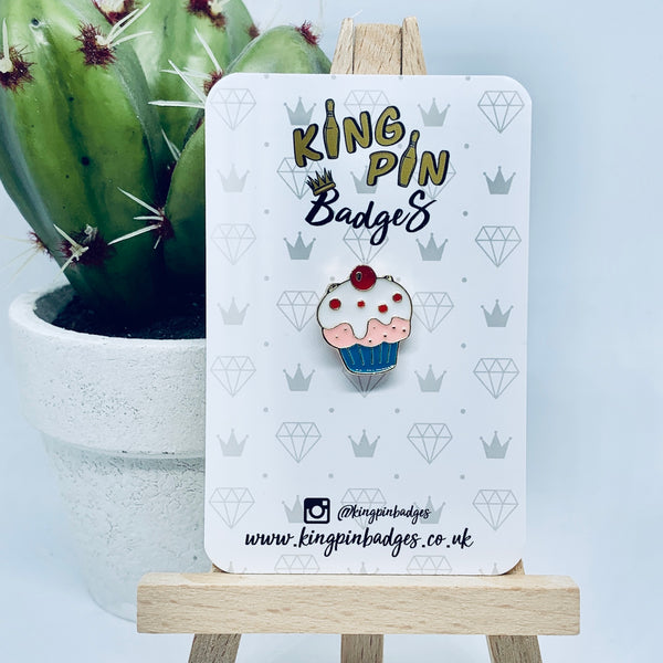 CUPCAKE Enamel Pin Badge
