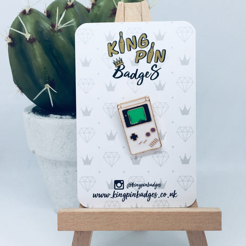 GAMEBOY Enamel Pin Badge