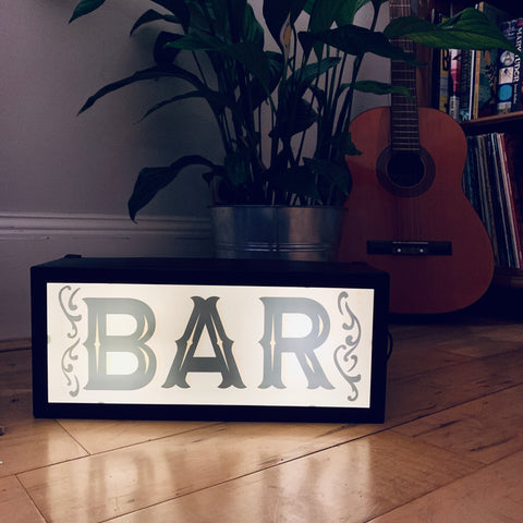 BAR Illuminated LightBox
