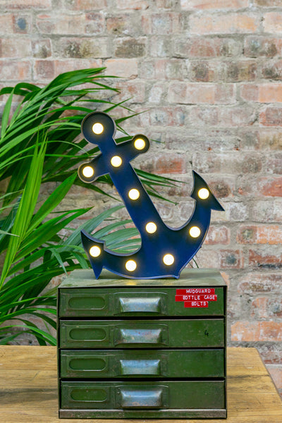 NAVY ANCHOR LED Light (Large)
