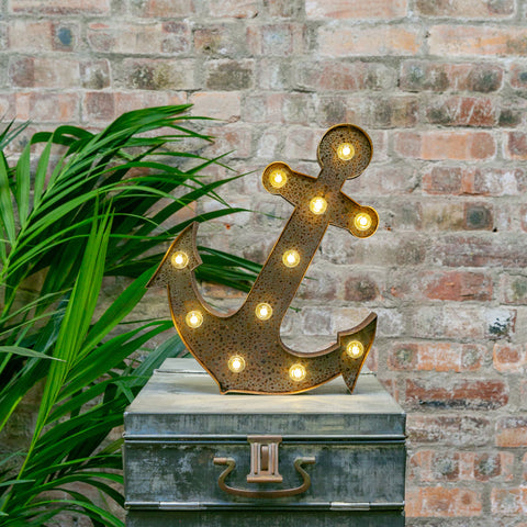 RUSTY ANCHOR LED Light (Large)