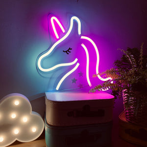 UNICORN Acrylic Neon LED Light