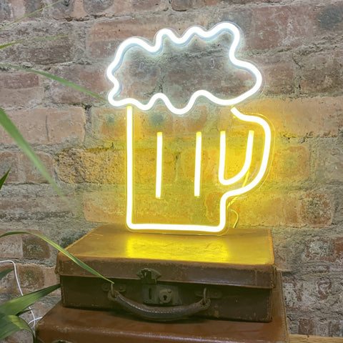 XL BEER Acrylic Neon LED Light