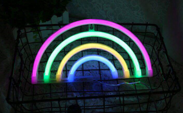 RAINBOW Acrylic Neon LED Light