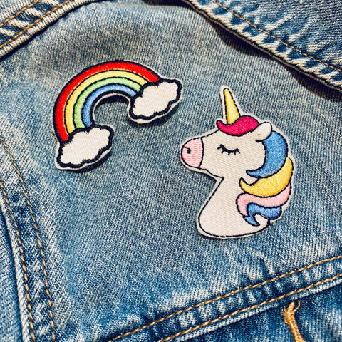 RAINBOWS & UNICORNS Patch Set