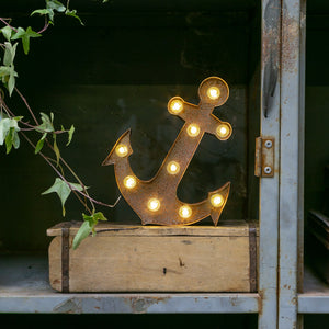 RUSTY ANCHOR LED Light (Small)