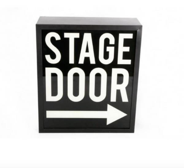 STAGE DOOR Illuminated LightBox