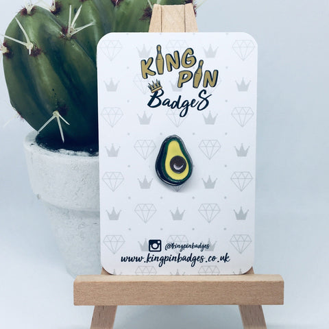 AVOCADO Enamel Pin Badge