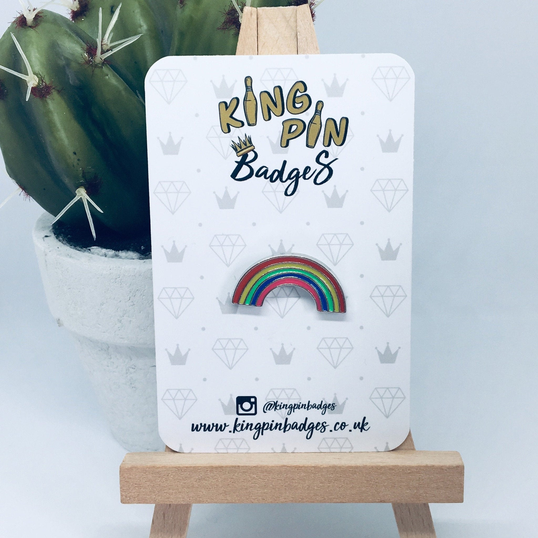 MINI RAINBOW Enamel Pin Badge