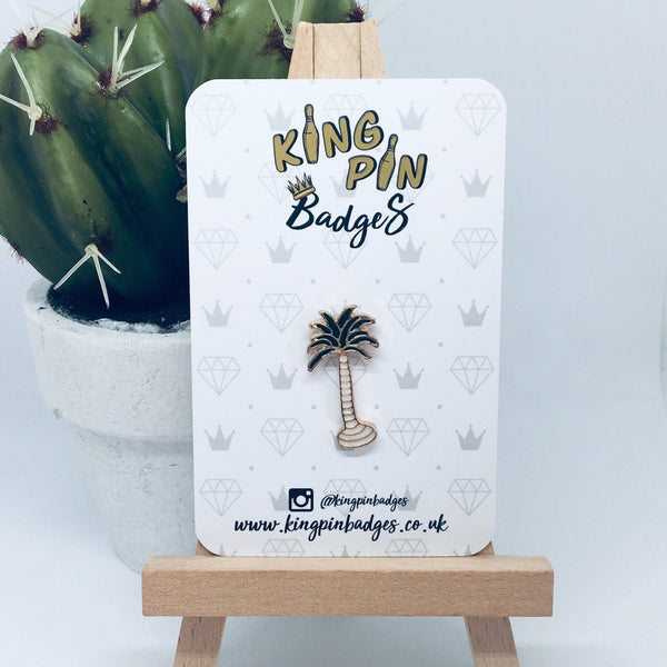 PALM TREE Enamel Pin Badge