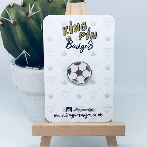 FOOTBALL Enamel Pin Badge
