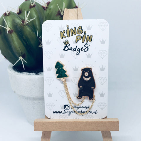 BEAR Enamel Pin Badge