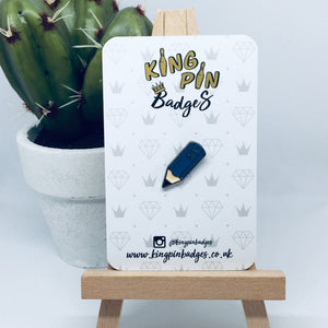 HB PENCIL Enamel Badge