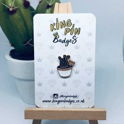 MINI CACTUS Enamel Pin Badge