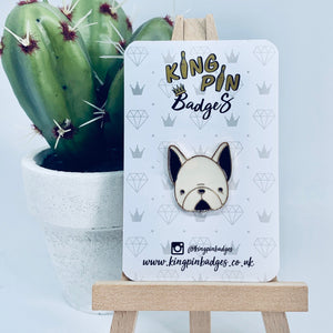 FRENCH BULLDOG Enamel Pin Badge