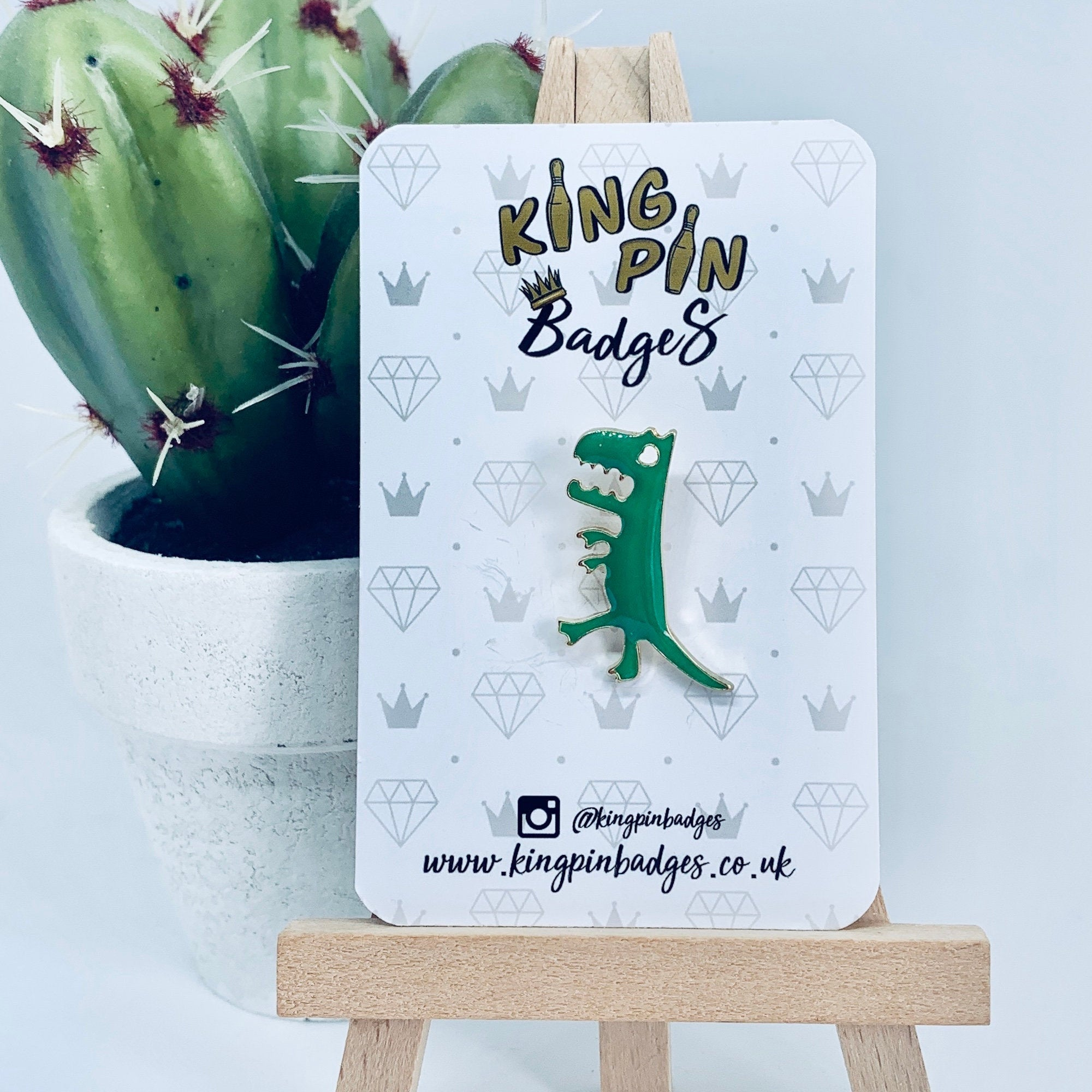DINOSAUR Enamel Pin Badge