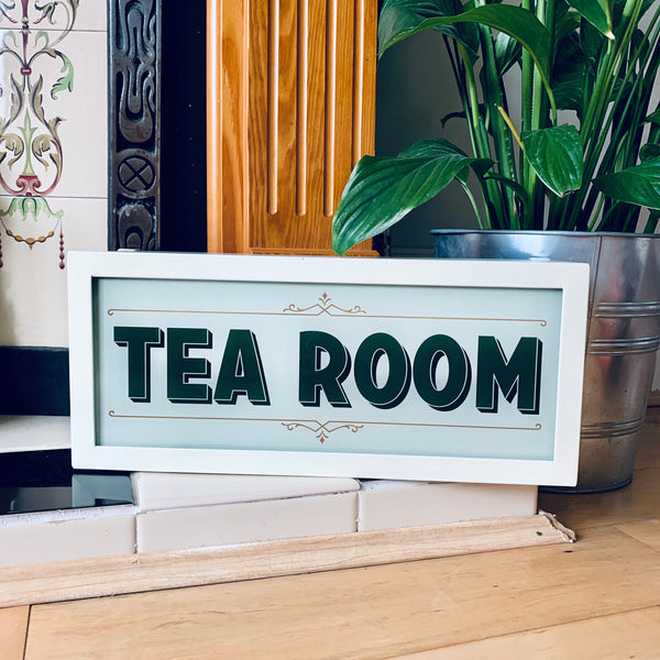 TEA ROOM Illuminated LightBox