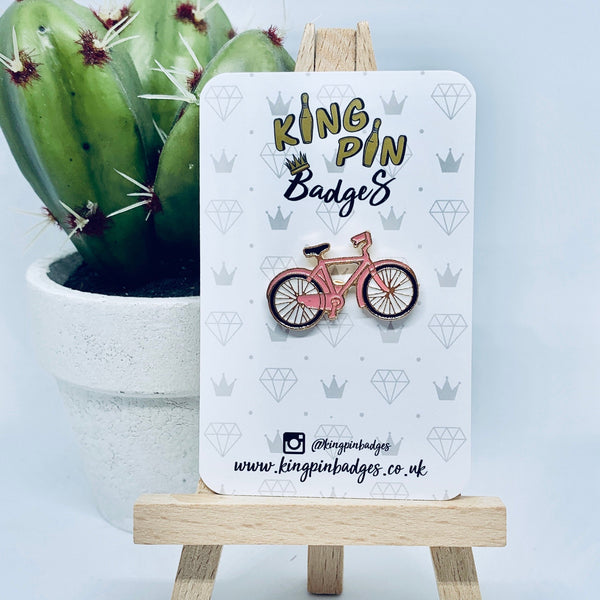 BICYCLE Enamel Pin Badge