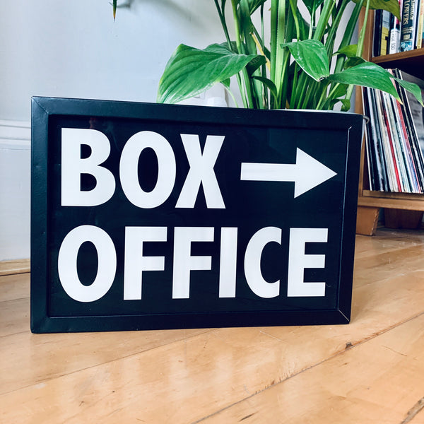 BOX OFFICE Illuminated LightBox
