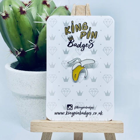 BANANA Enamel Pin Badge