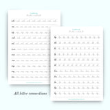 CURSIVE worksheets