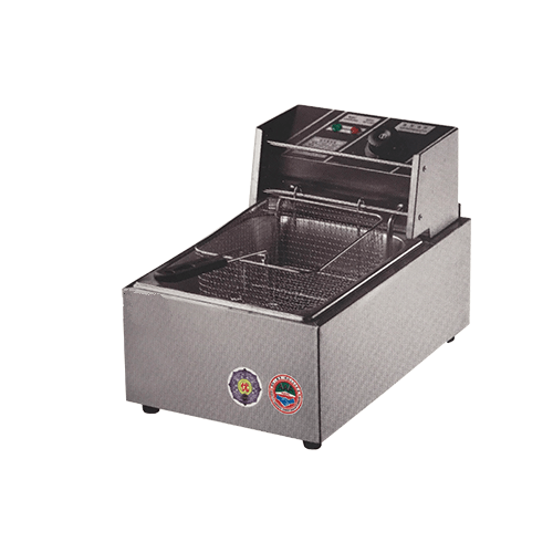 8L Single Tank Electric Fryer - Eco Prima Home and Commercial Kitchen Supply