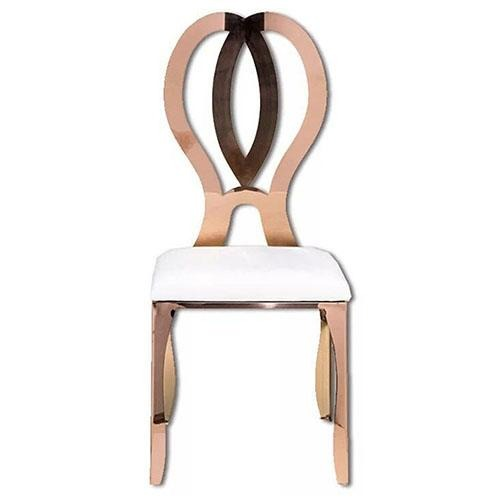 Rose Gold Eternity Banquet Chair - Eco Prima Home and Commercial Kitchen Supply