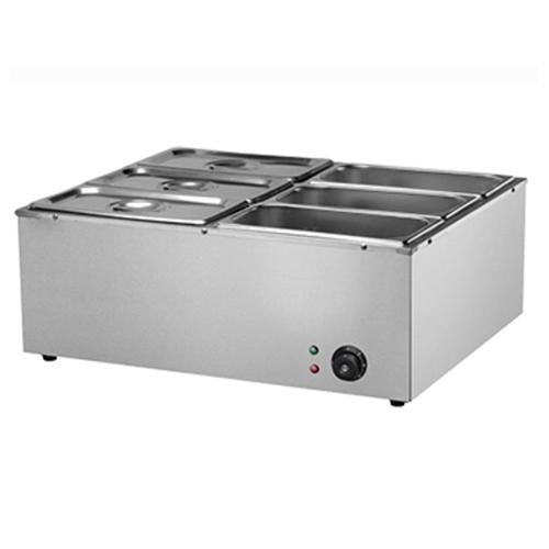6-Basket Electric Bain Marie - Eco Prima Home and Commercial Kitchen Supply