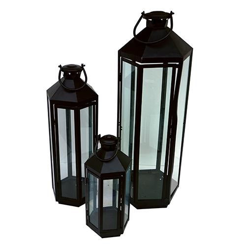 Black Lantern - Eco Prima Home and Commercial Kitchen Supply