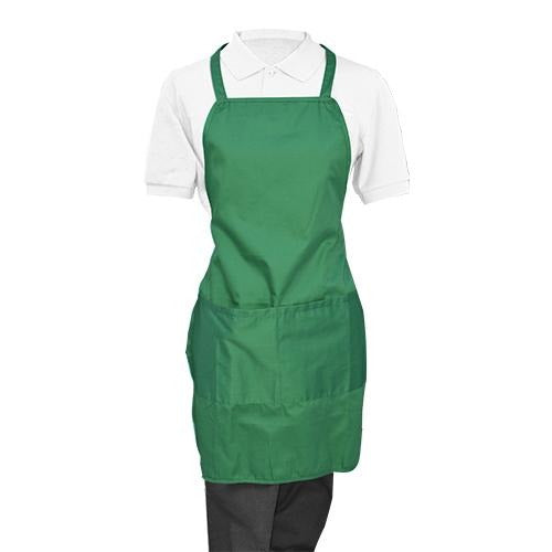 Green Whole Apron - Eco Prima Home and Commercial Kitchen Supply